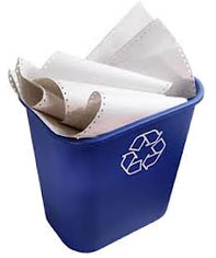 reciclaje de papel